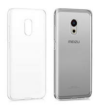 Чехол бампер для Meizu Pro 6 прозрачный
