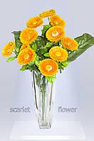Букет искусственных цветов, односторонняя маргаритка 11 голов