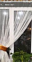Тюль сетка для кухни белый 2.80 / 1.65м купить tyulnadom