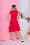 Женское платье, штапель, р-р 42; 44; 46; 48 (красный), фото 6