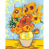 Набор для творчества ROSA START Подсолнухи Акриловая живопись по номерам N00013086 ТМ: ROSA START