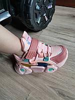 Кроссовки детские 23-26 р (15-17 см) на девочку