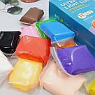 Легкий для ліплення пластилін 12 кольорів, фото 2