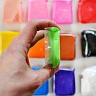 Легкий для ліплення пластилін 12 кольорів, фото 8
