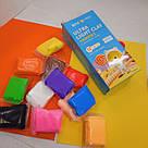 Легкий для ліплення пластилін 12 кольорів, фото 4