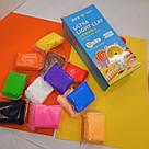 Легкий для ліплення пластилін 12 кольорів, фото 7