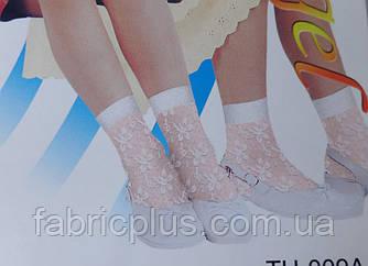Носки детские ажурные белые