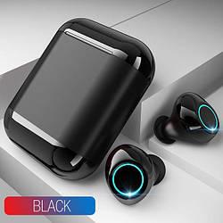 Бездротові bluetooth-навушники Tomkas S7-TWS, чорний бокс