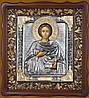 Писаная икона Святого Пантелеймона Целителя