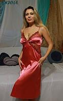Рубашка атласная Джина, Fleur Украина