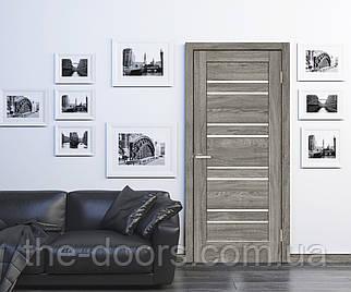 Двери межкомнатные ОмиС Рино 01 стекло сатин