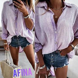 Женская  блузка стильная, повседневная. Размеры: 42-44,44-46.48-50,52-54. Ткань:Муслин.