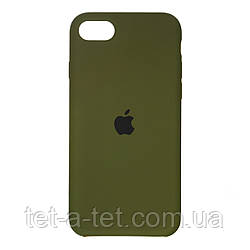 Чохол Silicone Case Original for Apple iPhone 7/8/SE 2020 (HC) - Virid Green