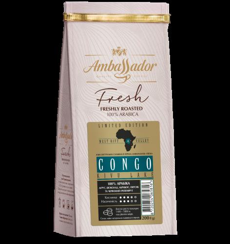 Кава в зернах Congo Kivu 200 г
