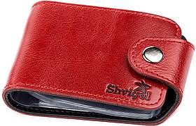 Холдер горизонтальный Shvigel 13913 кожаный Красный