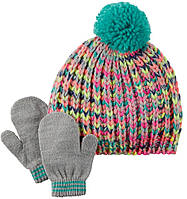 Набор шапка и варежки ТМ Carters (2Т-4Т)