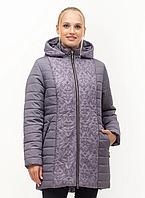 Стильная женская демисезонная куртка батал, размеры 52. 54. 56. 64. 66. 68
