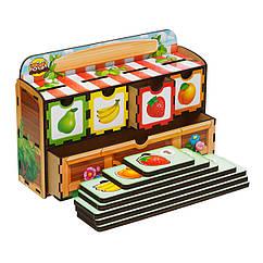 Волшебный комодик: Счет - 2 (банан, абрикос, груша, клубника, тыква, огурец, помидор, кукуруза)