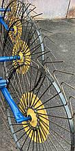 Грабли ворошилки Солнышко (спица 5 мм) для минитрактора (3Т)