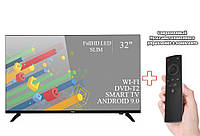 "Телевизор Ergo 32"" Smart-TV/Full HD/DVB-T2/USB (1920×1080) Android 9.0 + Пульт Д.У"