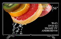 """Телевізор Hisense 56"""" Smart-TV/DVB-T2/USB АДАПТИВНИЙ UHD,4K/Android 9.0, фото 1"""