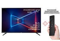 """Телевизор на стену Sharp 32"""" Smart-TV/Full HD/DVB-T2/USB Android 9.0 + Пульт"""