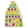 Волшебный комодик: Счет - 1 (перец, свекла, чеснок, капуста, лимон, виноград, арбуз и гриб), фото 2
