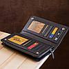 Мужской кошелек ST Leather 18444 (ST291) натуральная кожа Черный, фото 8