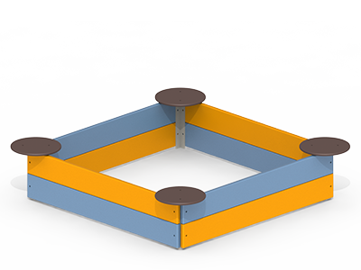 Пісочниця з сидіннями  kinderboom P37