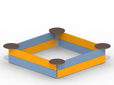 Пісочниця з сидіннями  kinderboom P37, фото 2