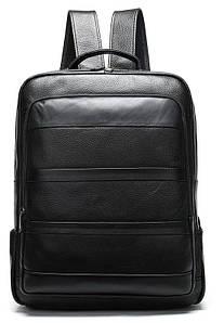 Рюкзак кожаный Vintage 20037 Черный
