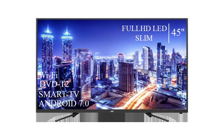 "Телевізор JVC 45"" Smart-TV/Full HD/DVB-T2/USB Android 7.0"