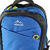 Рюкзак туристичний похідний текстиль блакитний 65 л, фото 4