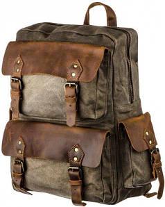 Рюкзак для путешествий Vintage 20108 Серый