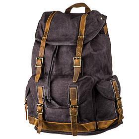 Походный рюкзак canvas Vintage 20110 Серый