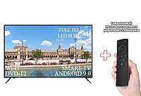 "Телевизор Liberton 34"" Smart-TV/Full HD/DVB-T2/USB Android 9.0 + пульт Д/У, фото 1"