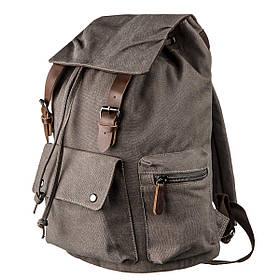 Рюкзак текстильный походный Vintage 20133 Серый