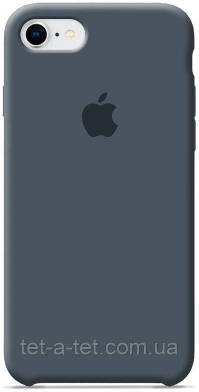 Чехол Silicone Case Original for Apple iPhone 7/8/SE 2020 (HC) - Dark Grey