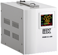 Стабілізатор напруги переносний Prime 0,5 кВА симіст. перен. IEK