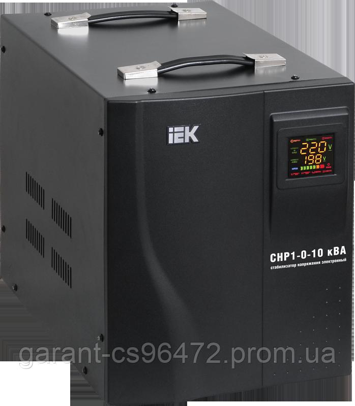 Стабілізатор напруги Home 1 кВА (СНР1-0-1) рел. перен. IEK