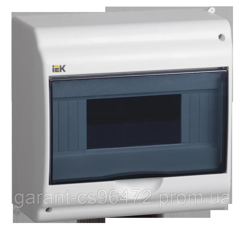 Бокс КМПн 2/9-1 на 9 мод. прозора кришка навісний 180х188х96 IP31