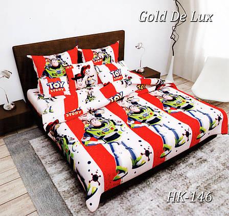 Полуторное постельное белье Тет-А-Тет НК-146 (эконом), фото 2
