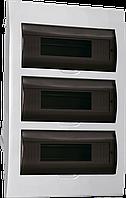 Корпус пласт. ЩРВ-П-36 мод. 3ряда вбудов. 503х342х102 IP41