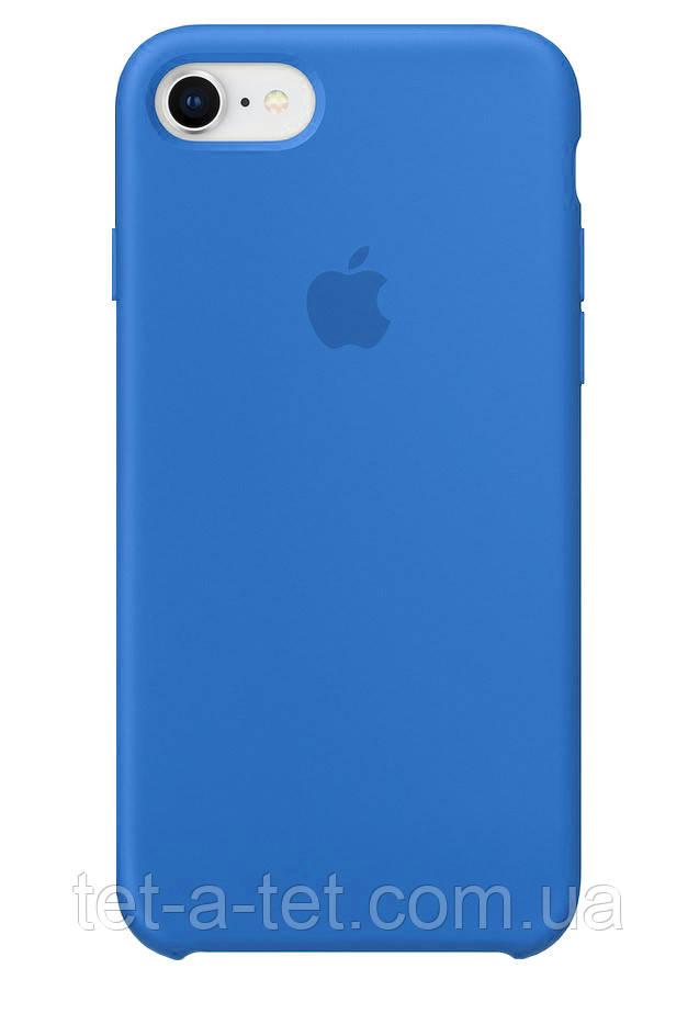 Чехол Silicone Case Original for Apple iPhone 7/8/SE 2020 (HC) - Denim Blue