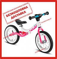 Біговел від 3 років з амортизацією Puky LR Ride SPLASH Pink 4085, фото 1