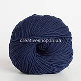 Пряжа DROPS Cotton Merino (цвет 08 navy), фото 2