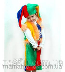 Карнавальный костюм Петрушка, шут