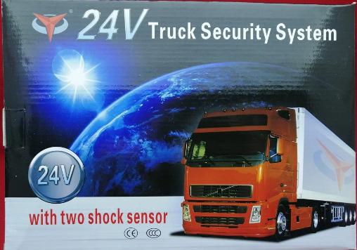 Автосигнализация для грузовиков 24V Truck Security System