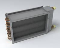 Воздугонагреватель водяной канальный Канал-КВН-50-25-3 (3-х рядный)