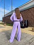Женский костюм, костюмка класса люкс, р-р 42-44; 44-46 (сиреневый), фото 2